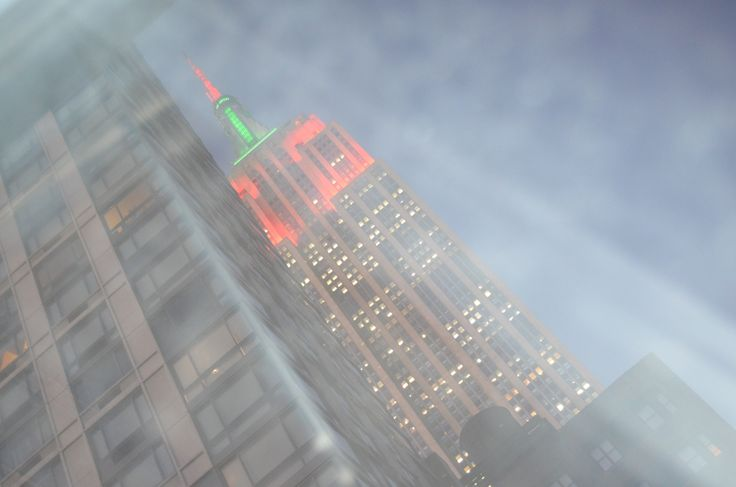 Empire State Building ~through the window~