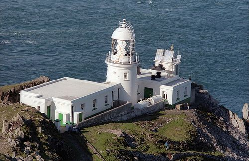 Lundy Island (North) Lighthouse.
