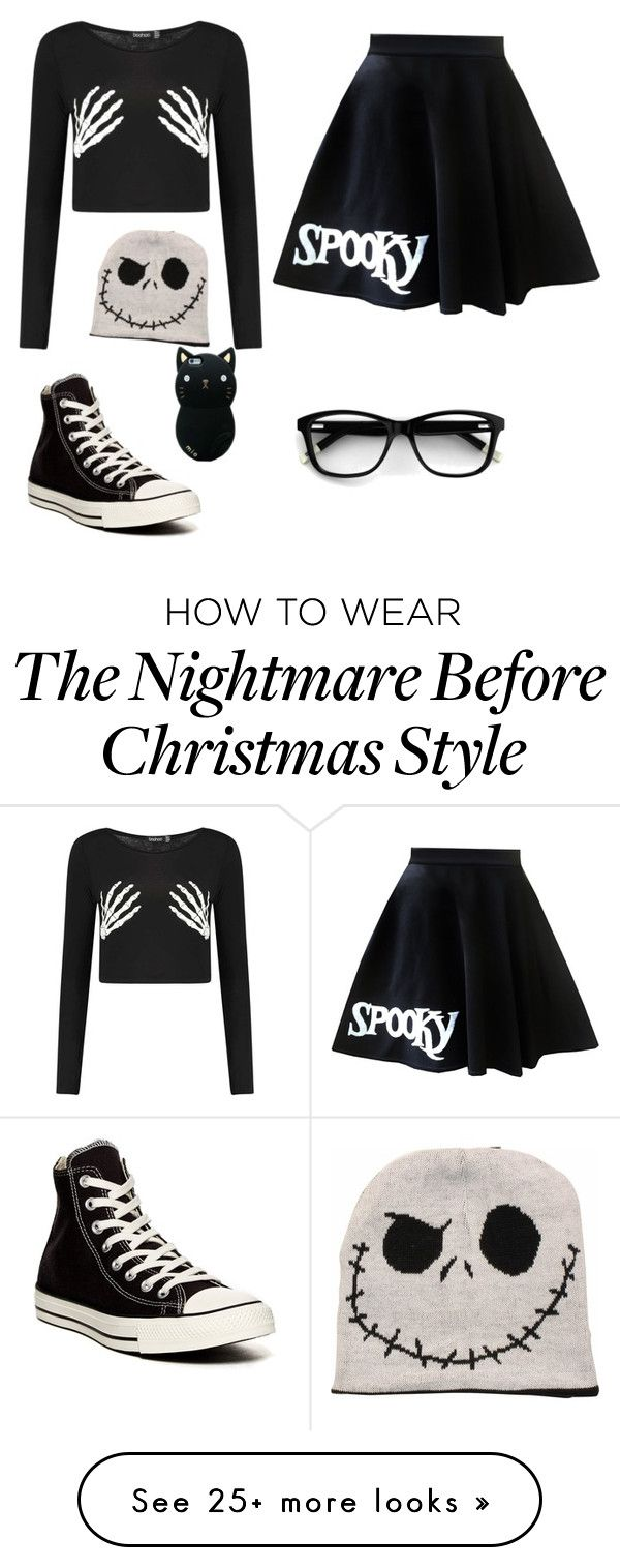 """""""Halloween"""" by debug-bug on Polyvore featuring Converse"""