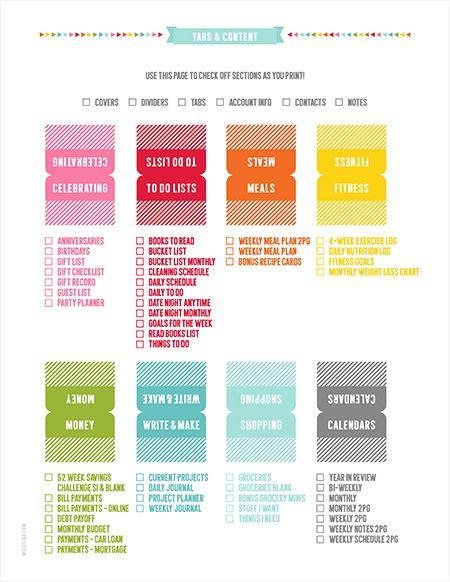 2015 EVERYDAY PLANNER » MissTiina.com {Blog}