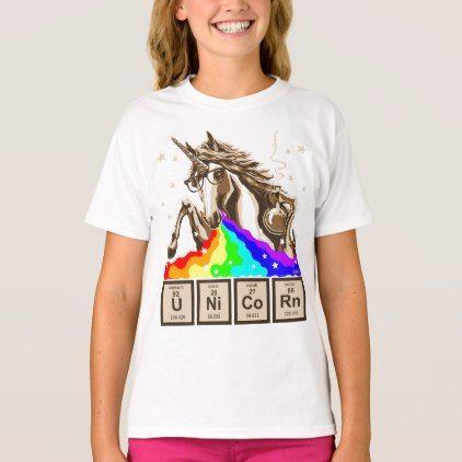#funny - #Chemistry unicorn pukes rainbow T-Shirt