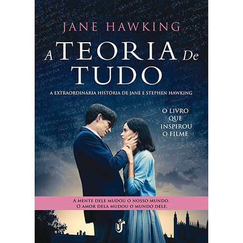 Livro - A Teoria de Tudo: A Extraordinária História de Jane e Stephen Hawking