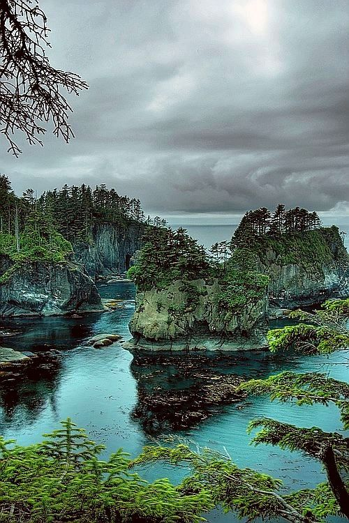 Cape Flattery, Olympic Coast National Marine Sanctuary, Washington