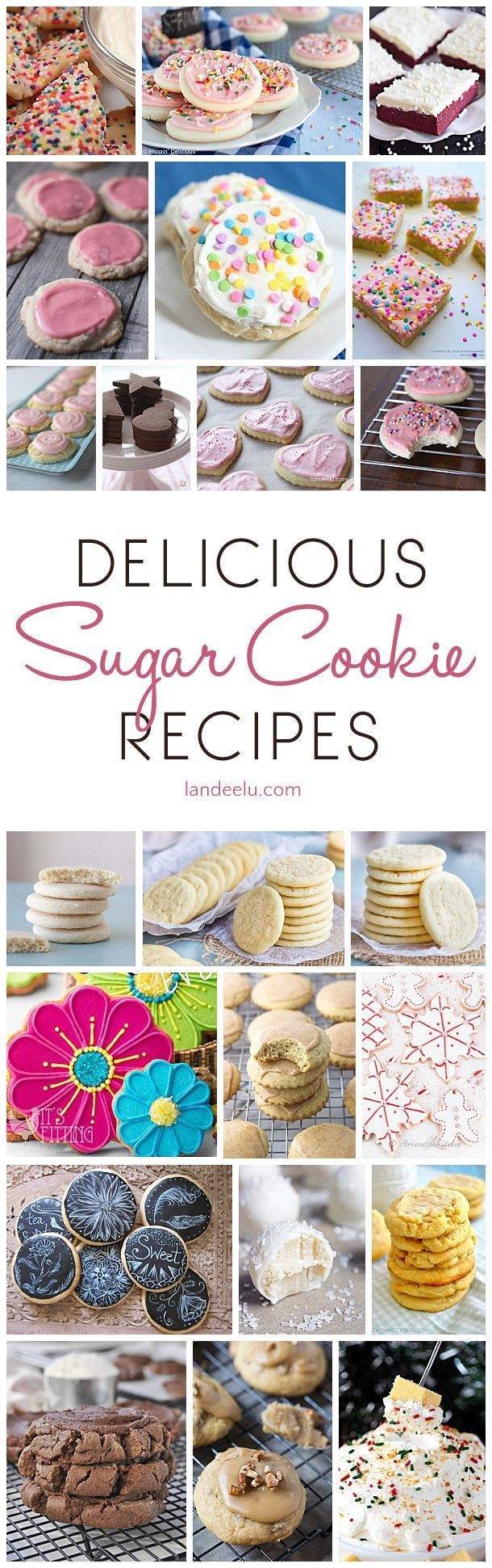 So many delicious sugar cookie recipes all in one place!