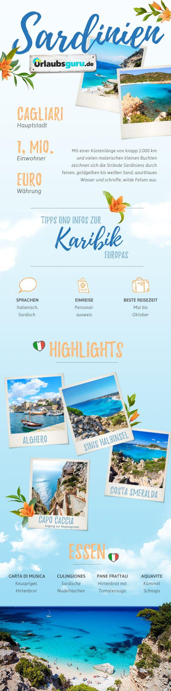 Kommt mit mir nach Sardinien, der Karibik Europas! In meinen Sardinien Tipps zeige ich euch die schönsten Orte der Insel, die besten Strände und die leckersten Gerichte Sardiniens. Lasst euch inspirieren!