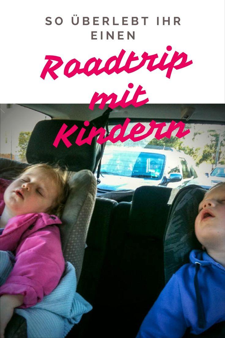 So überlebt ihr einen Roadtrip mit Kindern. Erprobte Tips von den Mini Globetrottern. Was man packen sollte, wie man die Stimmung hoch hält, wie man am besten vorgehen sollte, damit alle die Fahrt genießen können.