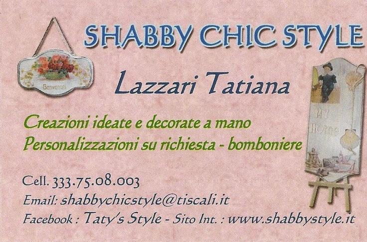 Shabby Chic Style - Creazioni e bomboniere