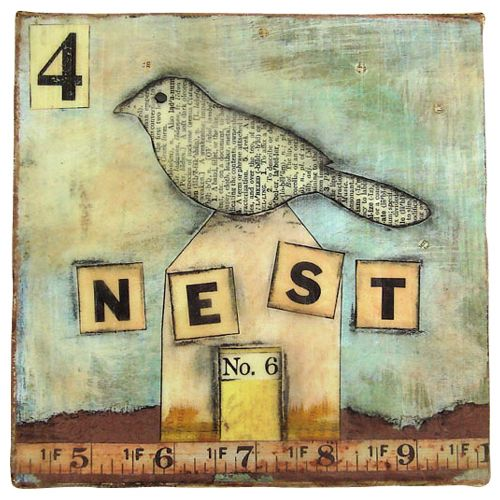 """Becky Shander - No. 6 Nest The number 6 in chinese culture is pronounced """"liu"""" and sounds like the word for """"flowing"""" which can mean """"everything goes smoothly"""". Wouldn't that be nice?"""