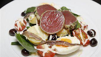 Matt Moran's tuna nicoise salad