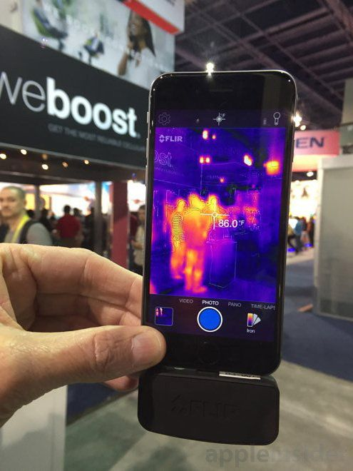 First look: Next-gen FLIR ONE thermal imaging camera for iPhone