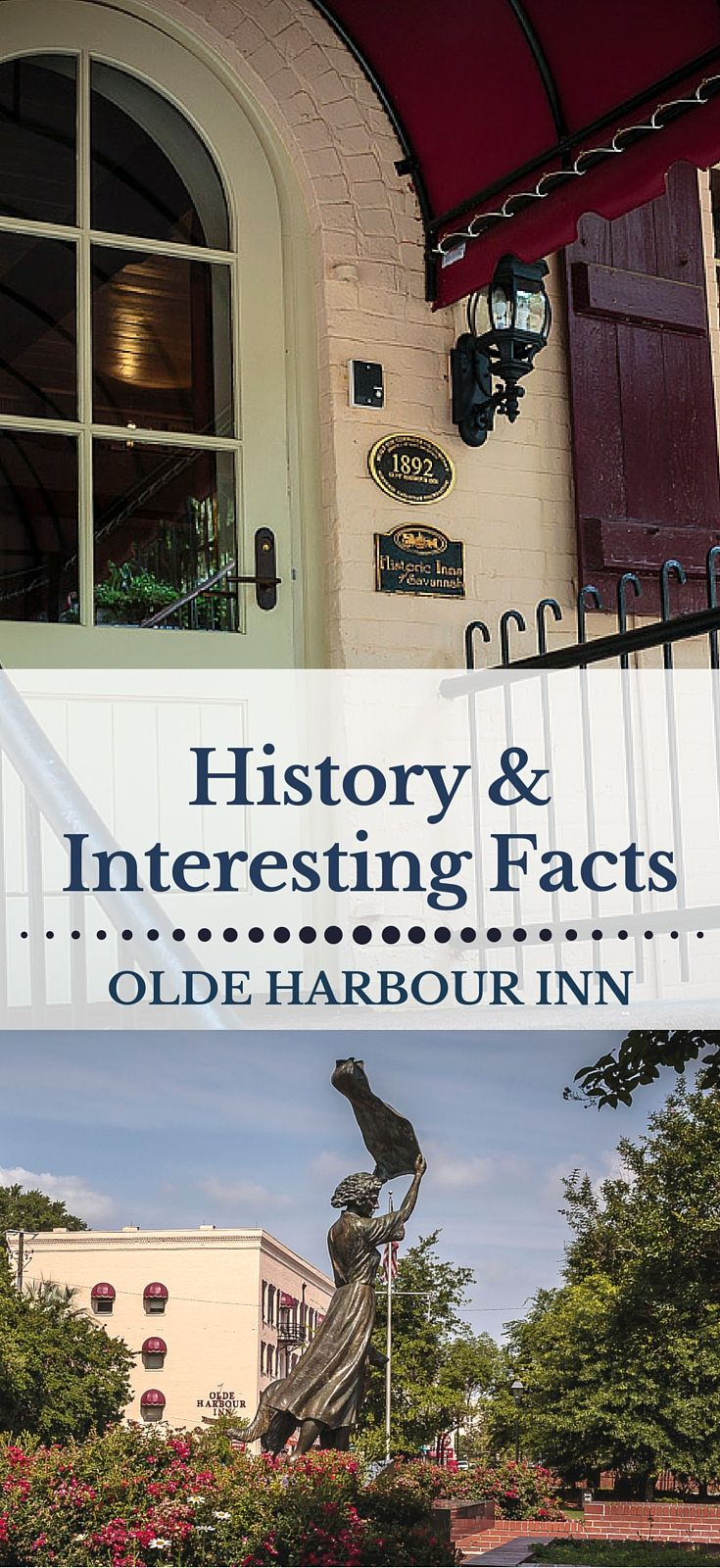 History of Olde Harbour Inn - Hotel in Savannah's Historic District