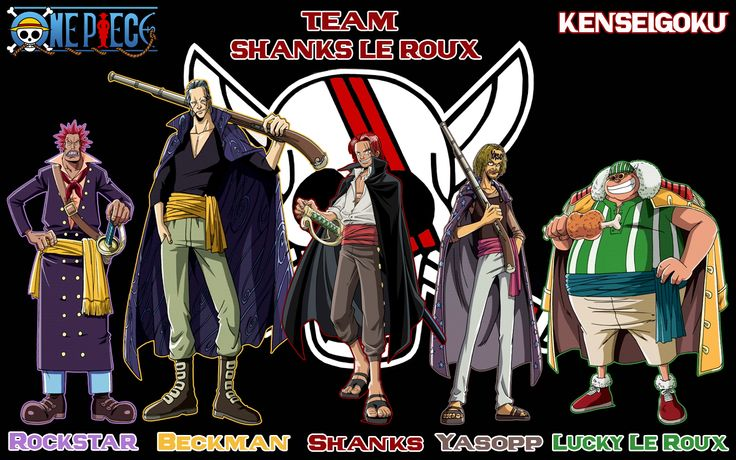One Piece Shanks Crew Read One Piece Manga Online at MangaGrounds and join our One Piece forums today!