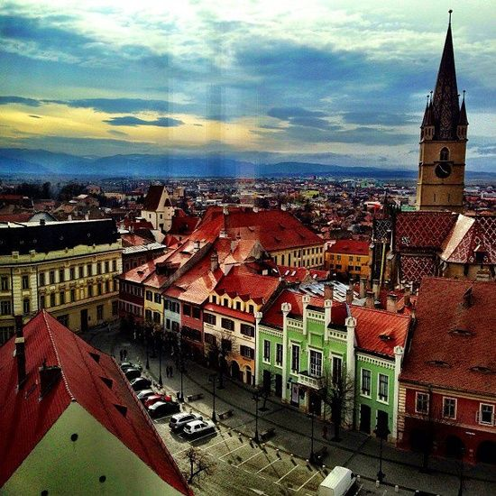 The most beautiful pictures of Romania: Sibiu