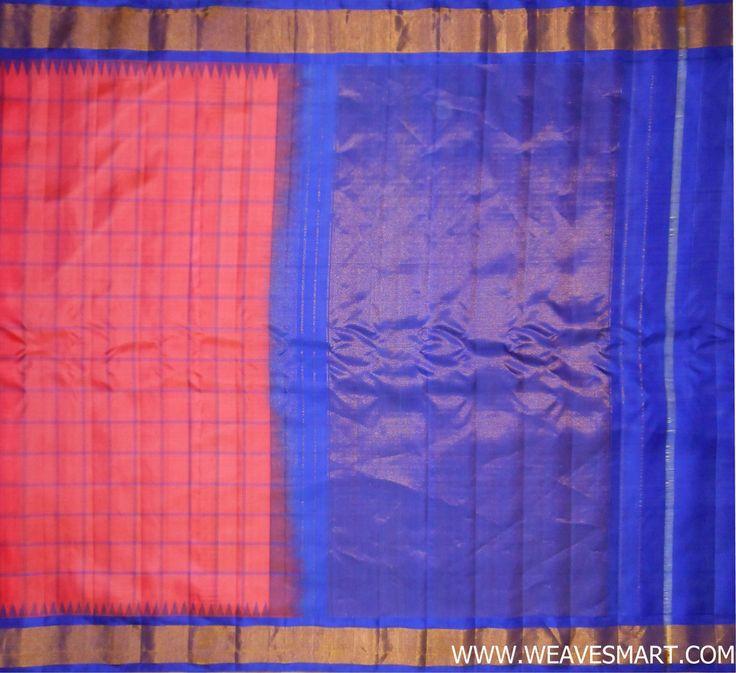 Gadwal Silk Saree - GDW00731