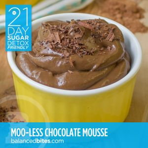 Easy Recipe: Dairy Free Chocolate Mousse. grain-free • gluten-free • dairy-free • sugar-free* • nut-free