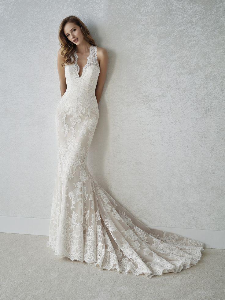 1672 besten Bare Back Wedding Dresses Bilder auf Pinterest ...
