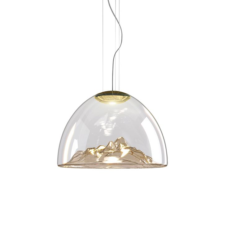 Mountain view suspension lamp by axo light
