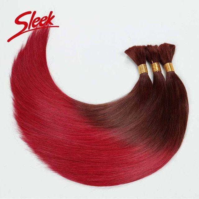 Sleek Human Braiding Hair Bulk, T32/530 Brazilian Virgin Hair Straight Ombre Human Hair, Human Braiding Hair Bulk No Weft