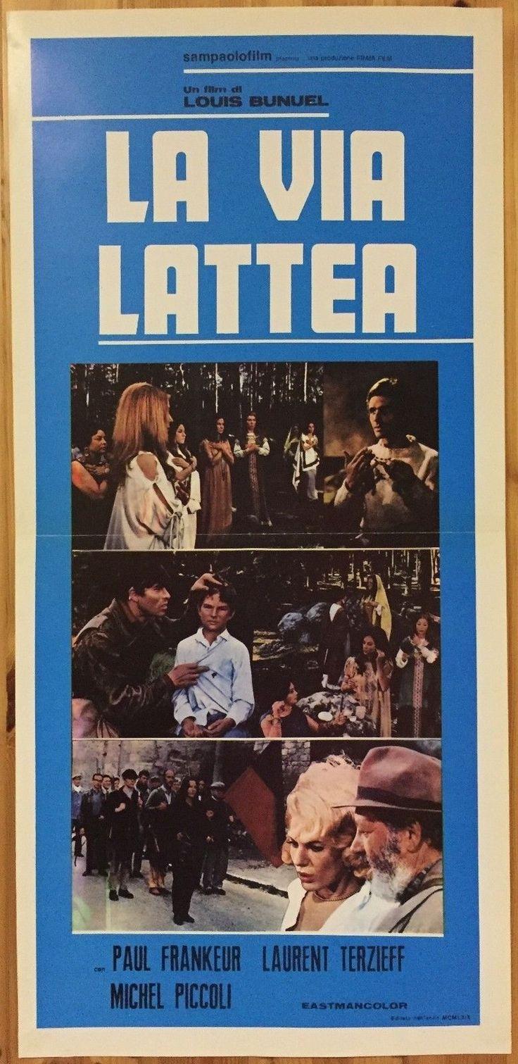 LOCANDINA La via Lattea con Michel Piccoli e Laurent Terzieff - Q357 | eBay