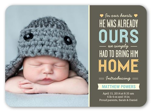 17 Best images about Baby announcements – Times Herald Record Birth Announcements
