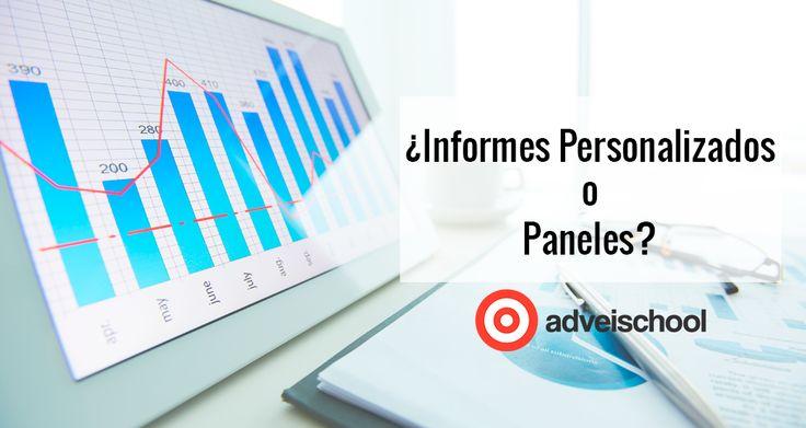 Funciones y ventajas para trabajar con Informes personalizados o paneles, y como ambos pueden ayudarte a tu día a día como analista.