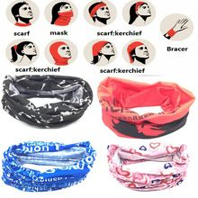 <Click Image to Buy> 2017 Outdoor Sport Camping Hiking Scarves Cycling Bicycle Head Scarf Magic Headband Face Mask Snood Bandana -- Just click the VISIT button will lead you to find similar beautiful pieces on  AliExpress.com