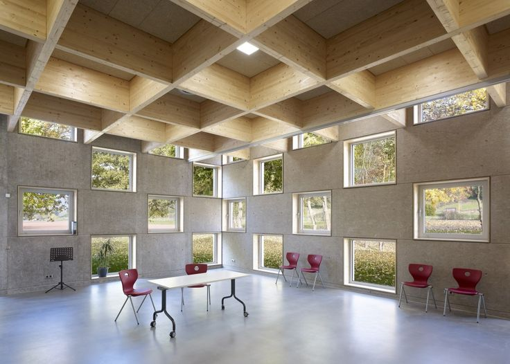 Salmtal Secondary School Canteen / SpreierTrenner Architekten. Germany