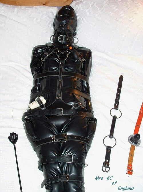 Rubberdoll chains slave girl diabolica amp punishes her bad - 1 4