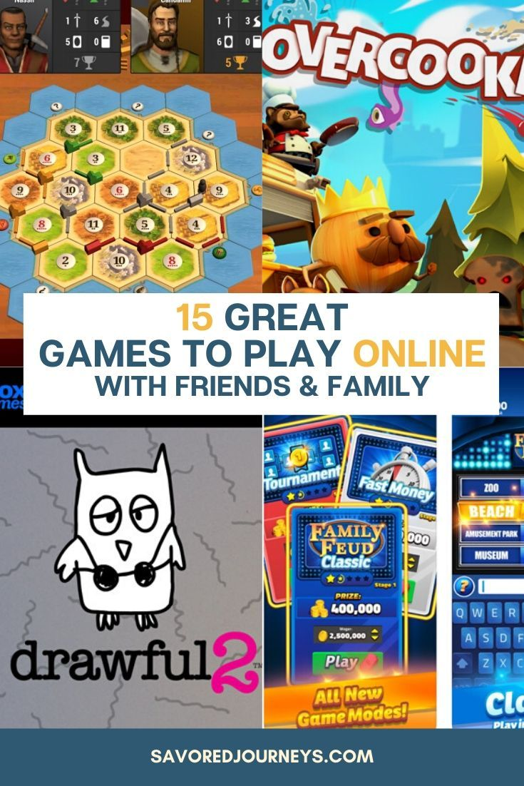 15 Great Games To Play On Zoom And Video Chats Fun Online Games Play Game Online Fun Games For Kids