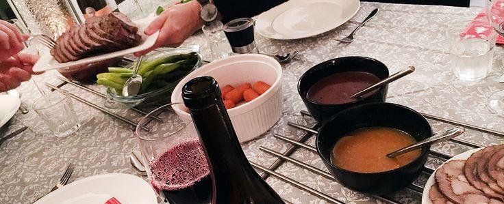 Gewoon wat een studentje 's avonds eet: Recap Kerst 2015: Gevulde kip, carpaccio, steak ta...