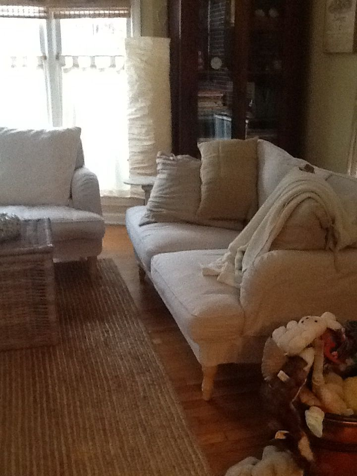 Ikea Stocksund Loveseat and sofa Love  Living room