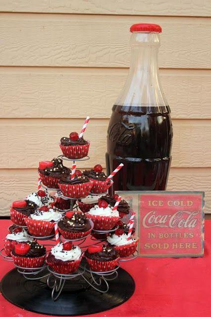 A Coca cola themed party!