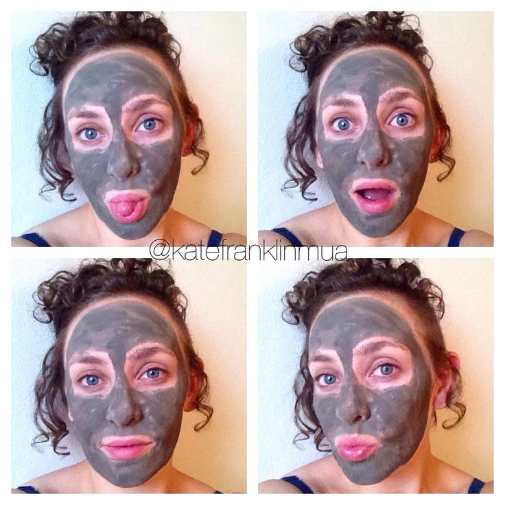 Getting my face looking/feeling good for the weekend using my #mysterymudmask. |  Kate Franklin Makeup