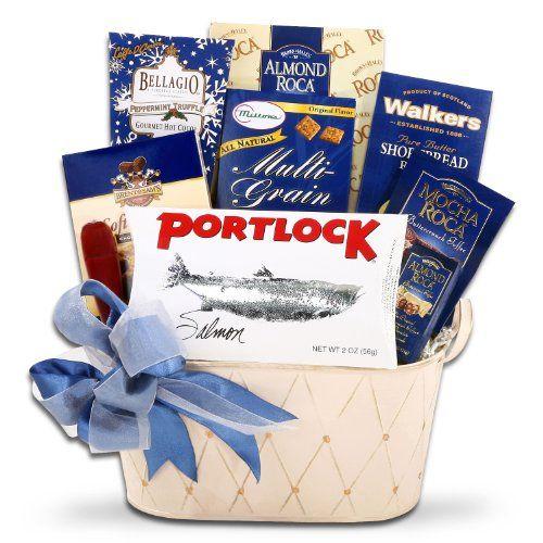 Kosher Gourmet Gift Basket | Hanukkah Gift Basket * You can get additional details at http://www.amazon.com/gp/product/B00GKIXL8Y/?tag=christmasdecor1-20&pza=170816223310