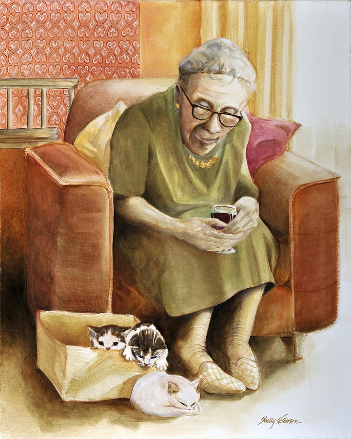 The Nanny Painting  - Shelly Wilkerson