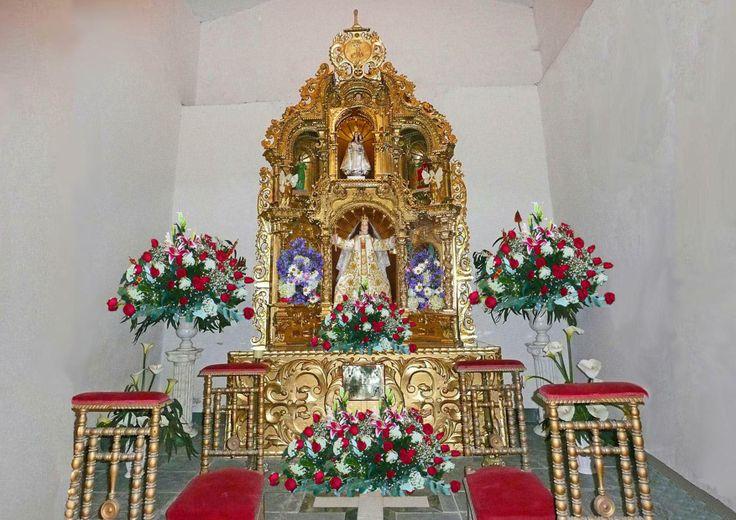 El altar colonial del estilo barroco churrigueresco de la - Estilo barroco decoracion ...