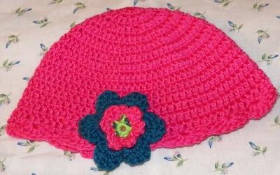 Hat: Hats, Pink Hat, Squares, Couple, Mycrochet Baby
