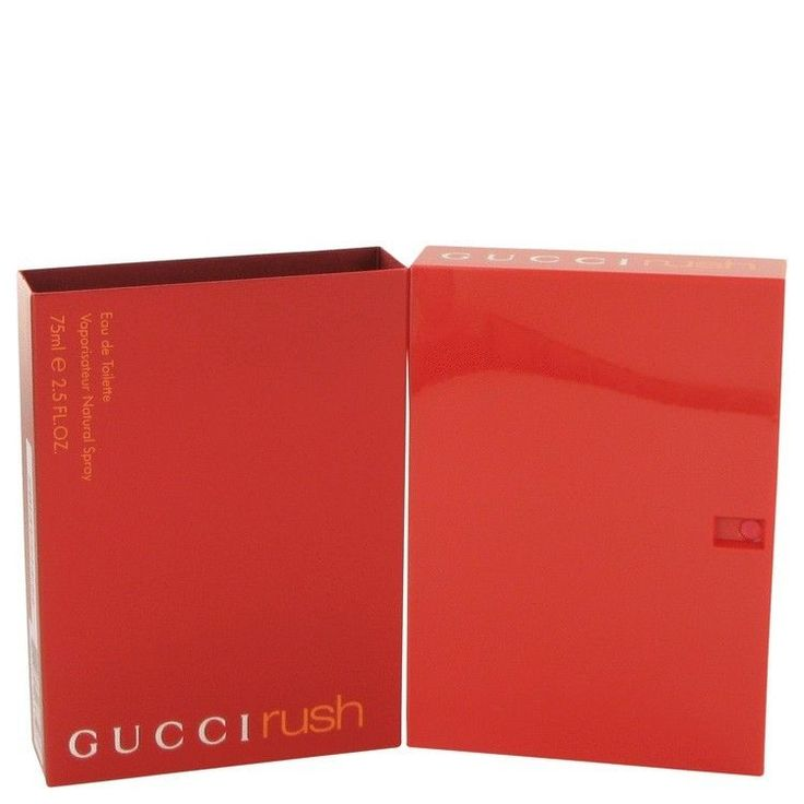 Gucci Rush 75 ml Eau de Toilette EDT 2.5 oz By GUCCI FOR WOMEN NIB #Gucci