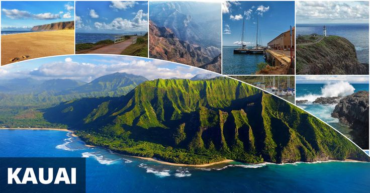 Our Kauai Island Map outlines some of the beautiful places on the Garden Isle. Lovely photos of Hanalei, the Na Pali Coast, Spouting Horn, Poipu, & more!