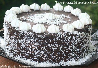 Tort Siedemnastka