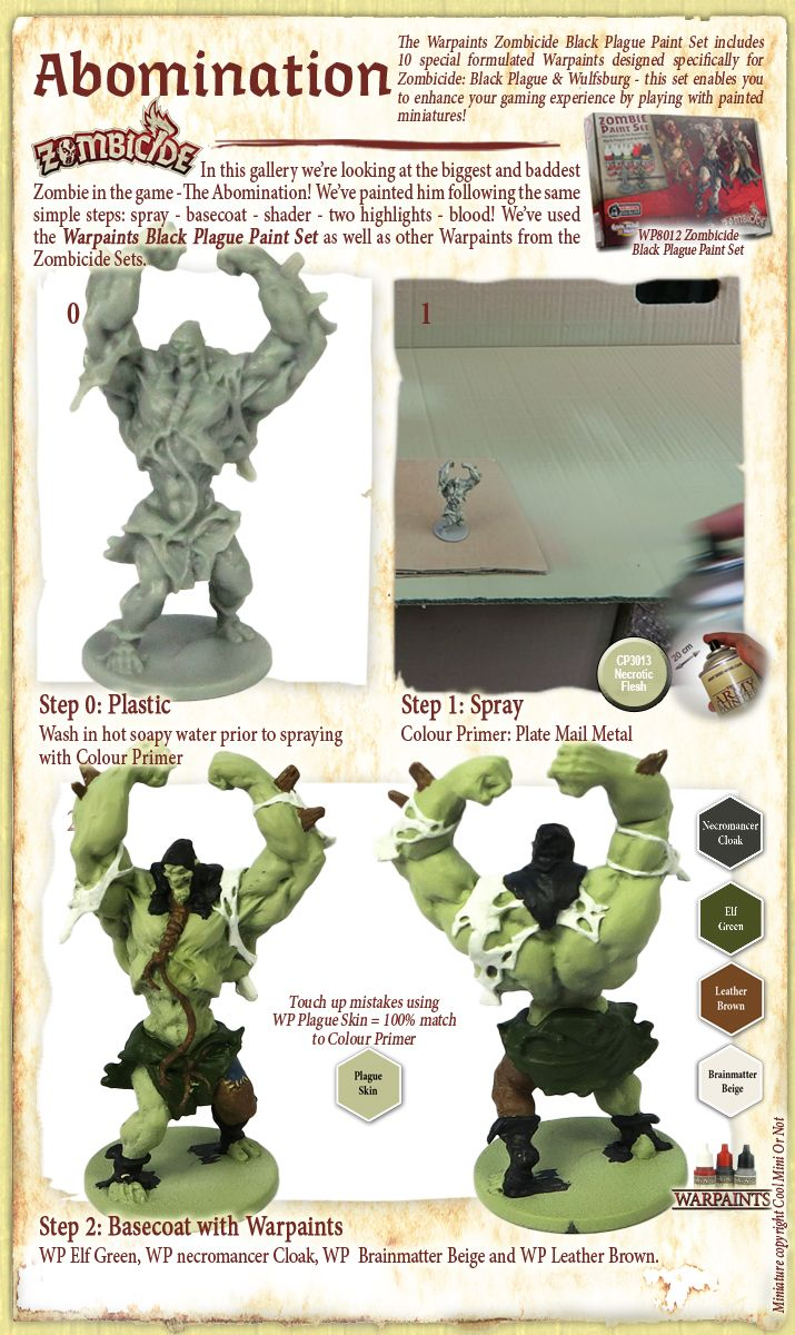 Painting miniatures color master primer - The Army Painter