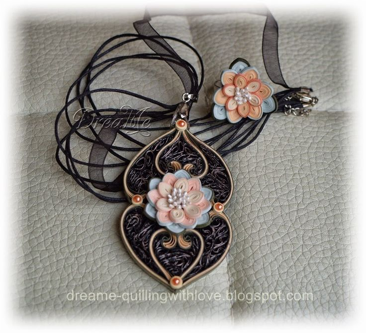 DreaMe - quilled jewelry