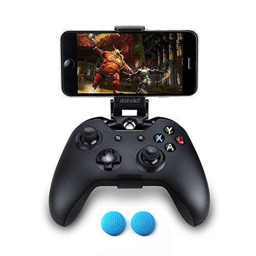 Dainslef Foldable Mobile Phone Holder Smartphone Clamp Game Clip For Microsoft Xbox One xbox 1 Game Controller For Iphone Samsung Sony HTC LG Huawei  100% brand new and high quality  Fit for Xbox Onegameapd Controller conveniently  Easy to attach to your smartphone, no tools or modification necessary  Fully customizable viewing angle.  Does not interfere with the ergonomics of the controller.