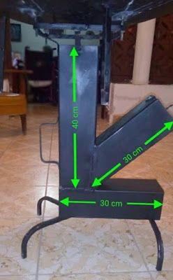 Resultado De Imagen De Medidas Rocket Stove Estufas Estufas