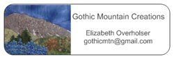 Gothic Mountain Labels