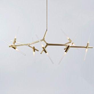 Mejores 128 imgenes de lighting en pinterest accesorios apliques brushed brass aloadofball Choice Image
