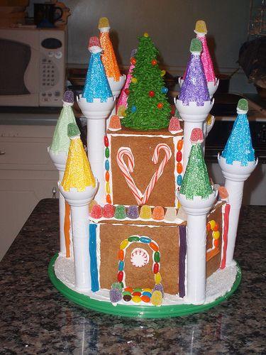 Gingerbread Castle   by Kelsie Cakes!