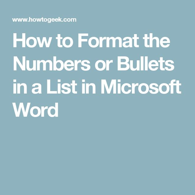 how to change text to default bullet type in word