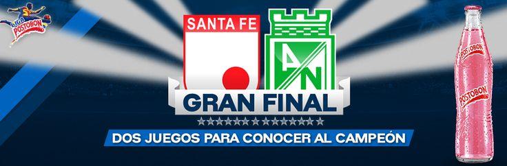 Gran Final del Futbol Colombiano - Santa Fe Vs Nacional