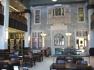 The Phillip Weltner Library At Oglethorpe University In Atlanta Georgia Working There During My